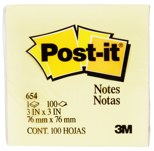 3M Post-it Notes 76mm x 76mm
