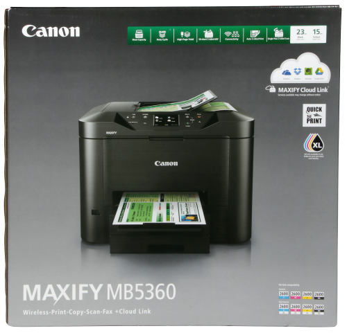Canon Maxify Mb5360 All In One Printer Right Product